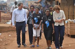 Nick Hurd MP visits Uganda