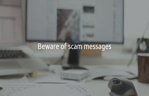 Beware of scam messages