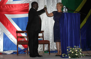 Guest of Honor, Dr Harrison Mwakyembe and HC Dianna Melrose