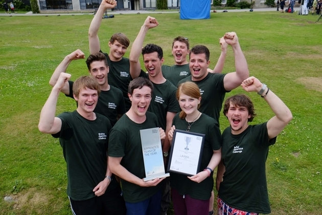 UKAEA win Apprentice team of 2016 - Brathay Challenge