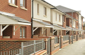 Image of rows of houses