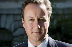 Declaración del primer ministro David Cameron en Downing Street.