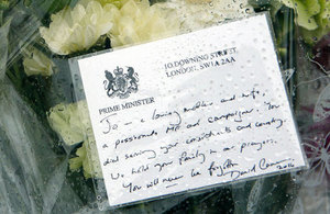 PM's tribute to Jo Cox