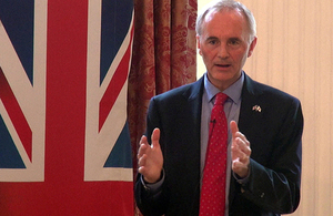 British Ambassador in conversation with Japanese investors about the UK's EU referendum