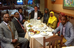 Edward Evans breaks the Ramadan fast with members of Canada's vibrant Somali community in Toronto.