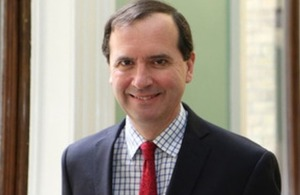 British High Commissioner Fergus Cochrane-Dyet, OBE