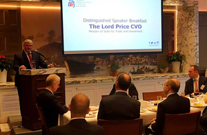 Lord Price speech at the British Chamber of Commerce in Hong Kong' within 'Hong Kong