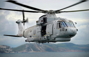 Read the MOD signs new partnering arrangement with Leonardo Helicopters UK article