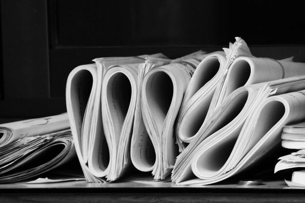 Photograph of legal documents