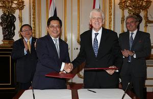 ปิดตัวสภานักธุรกิจไทย-สหราชอาณาจักร