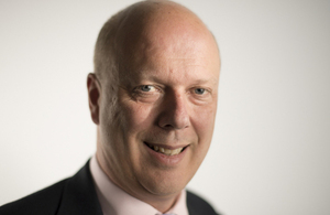 Rt Hon Chris Grayling MP.