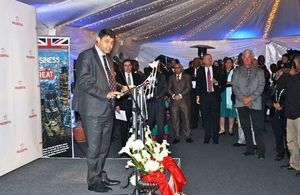 Acting British High Commissioner Sean Melbourne