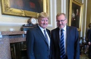 David Mundell meets Scottish business leaders