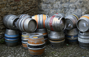Beer casks