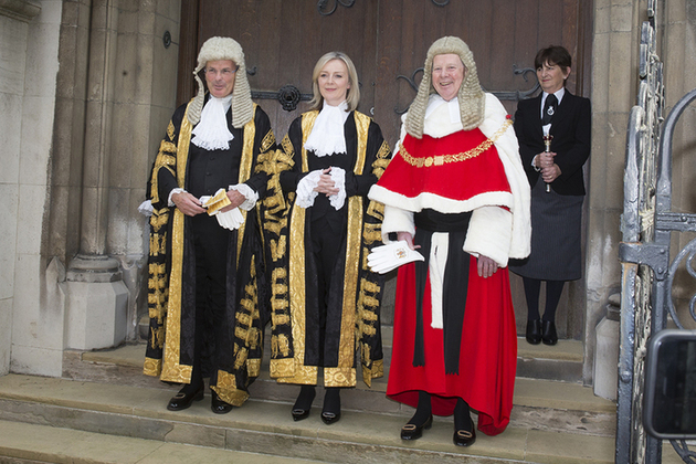 Master of the Rolls, Rt Hon Elizabeth Truss and Lord Chief Justice