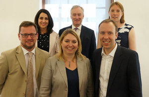 DCMS ministerial team