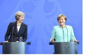 Read 'Erklärung von PM May in Berlin: 20. Juli 2016'