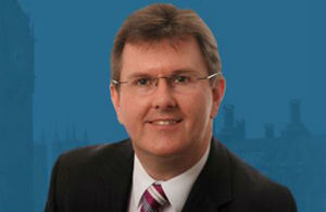 Trade Envoy to Egypt Sir Jeffrey Donaldson