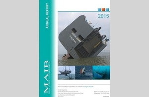Front cover of the 2015 Annual Report