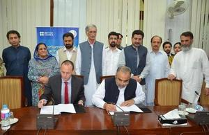 British Council in Pakistan signs MOU with the Government of Khyber Pakhtunkhwa