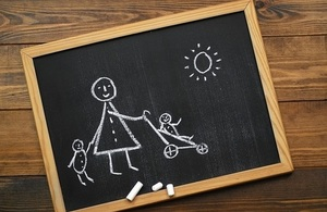 Chalk drawing - find out the top things childcare providers should know