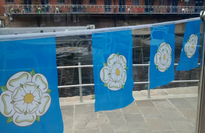 Yorkshire flags