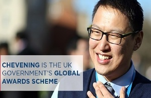 application for chevening scholarships