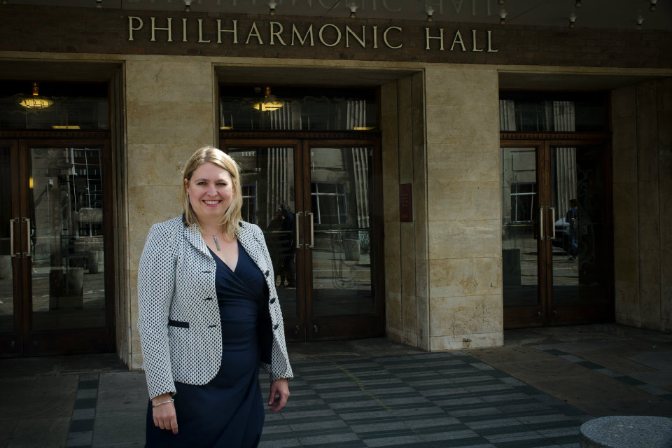 Karen Bradley gives first speech on arts and culture in Liverpool