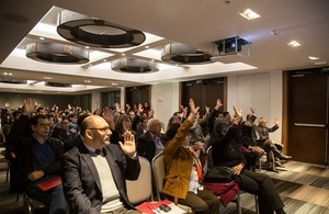 More than 250 people took part in activities to improve researcher's international competitiveness