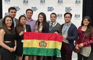 Chevening Scholars Bolivia 2015/16