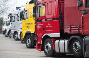 M20 lorry park