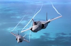 F-35B Lightning aeroplane