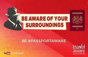 Be #PassportAware