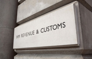 HMRC building sign