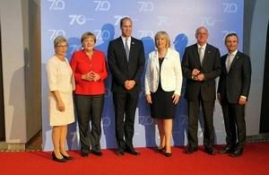 Read 'Rede des Herzogs von Cambrigde beim Festakt zum 70. Geburtstag von NRW'