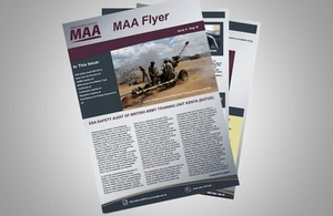 MAA newsletter