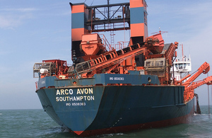 The dredger Arco Avon