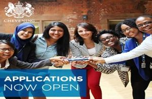 Applications open for Chevening scholarships
