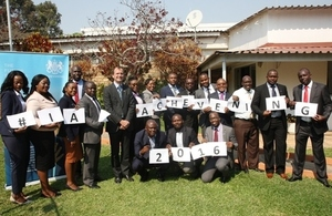Zambian Chevening scholars