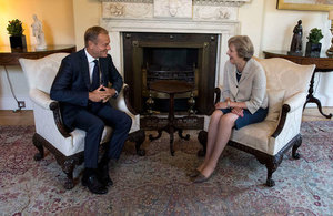PM meeting with Donald Tusk