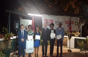 Chevening Reception Luanda 2016