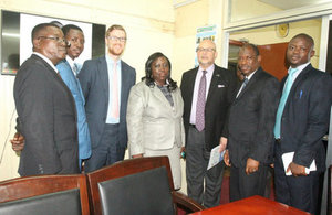 Representative of the British High Commission and members of the Leagal Aid Board