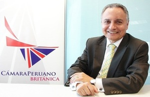 Enrique Anderson named OBE in recognition of his significant contribution to UK-Peru relations