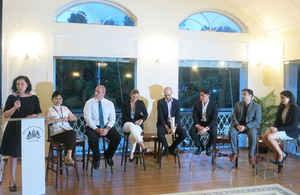 Guest speakers at the International Wildlife Trade (IWT) panel discussion