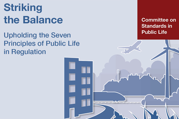 Striking the Balance - upholding the 7 principles in regulation
