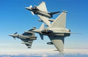 日英戦闘機共同訓練のお知らせ