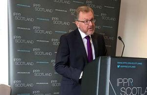 David Mundell at IPPR Scotland