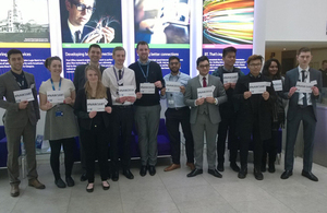 BT higher apprenticeship breakfast event, National Apprenticeship Week 2016