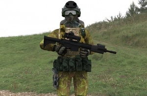 Dismounted Close Combat Sensors concept