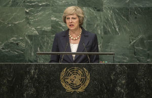Read 'Theresa May's speech to the UN General Assembly'